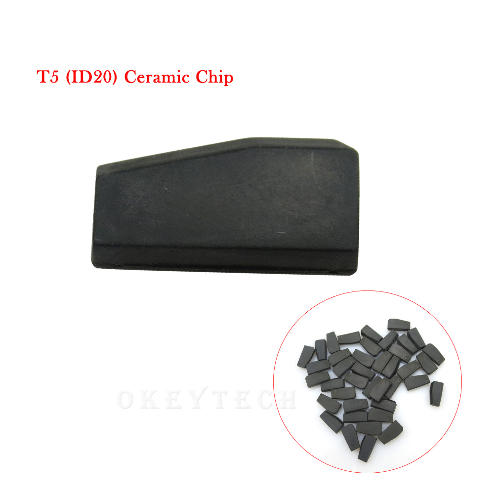 EKIY 10pcs/lot High Quality Car Key Chip T5 ceramic cloneable transponder chip ID T5-20 for Car Key T5 Chip Locksmith Tool ID T5 10pcs lot up6282ad power management chip