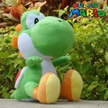 Free shipping 30cm Super Mario Plush Doll Figure green running yoshi plush toy super mario toys for christmas gift