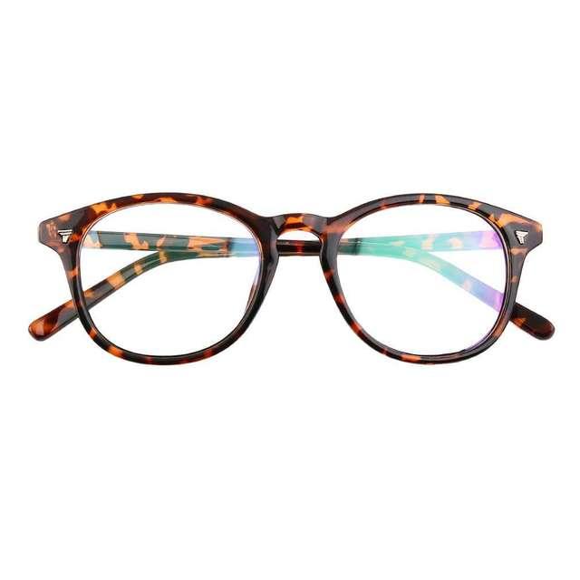 d4464a540 Retro gato olho Anti-fadiga transparente armação de óculos para homens mulheres  Óculos Oculos de