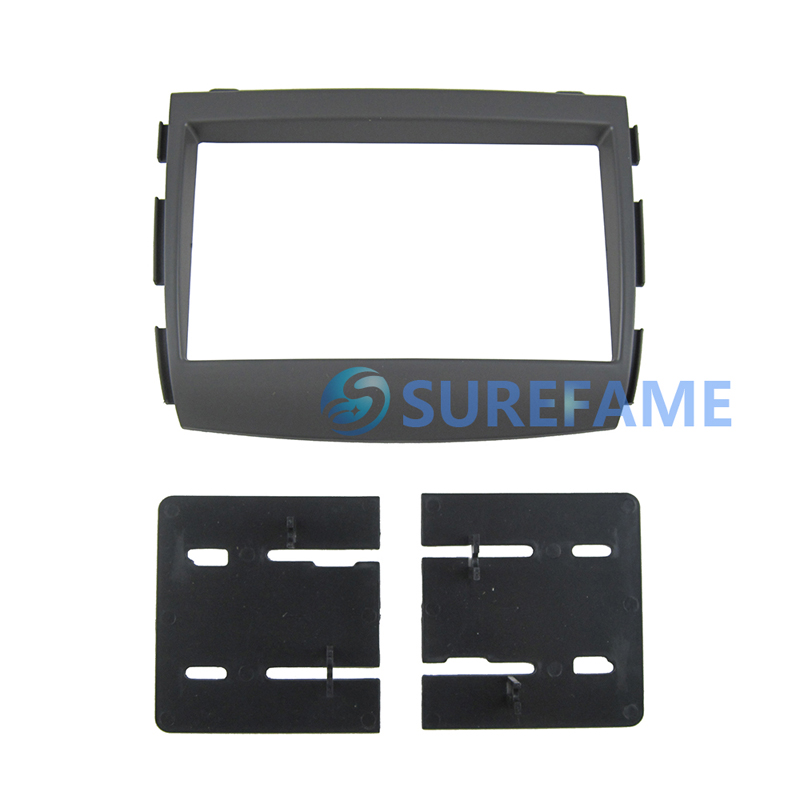 Car Audio Frame For Hyundai Sonata Sonica 2004 2008 Stereo Fascia Dvd Panel Dash Kit Trim