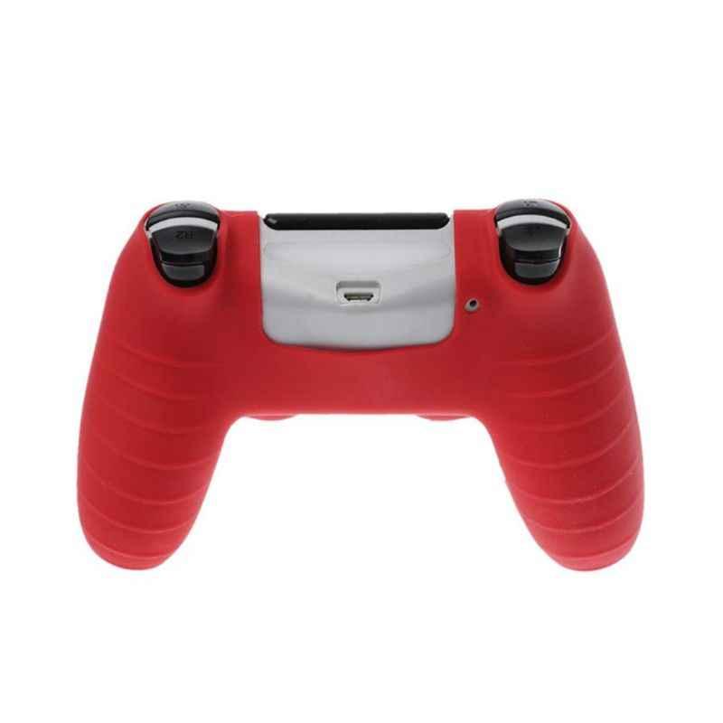 1 zestaw osłona ochronna uchwyty na kciuki antypoślizgowa czapka pyłoszczelna akcesoria do gier dla Sony PlayStation 4 PS4 SLIM PRO Controller