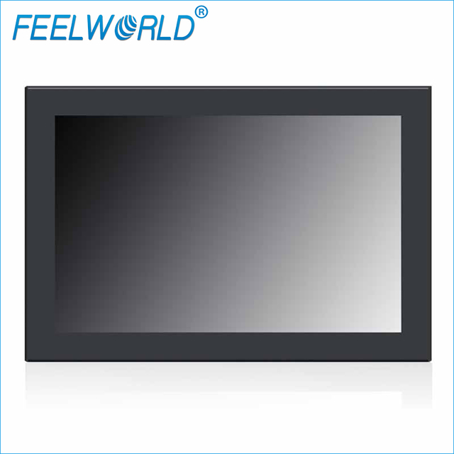 "PF101-9AH 10.1 Polegada 1280x800 IPS Monitorar 10.1 ""Open Frame Monitor LCD Painel de Metal Montar Monitores Industriais Feelworld"