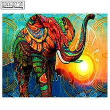 5d алмазная вышивка «сделай сам» животное слон стразы живопись