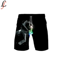 Michael Joseph Spiaggia Shorts Uomini Gonne e Pantaloni Anti-Uv Shorts di Nuoto di Stampa di Vendita Calda Shorts Estate Draw String Elastico In Vita Corta(China)