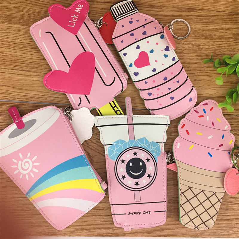 Creative Children S Wallet Package Ice Cream Shape Novel And Unique Funny Lovable Welcome Wholesalers Retailers