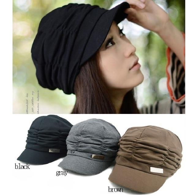 990c705099439 Hot Women Elegant Winter Warm Knitted Crochet Slouch Baggy Beanie Rabbit  Fur Hat Cap Berets Gorros de mujeres
