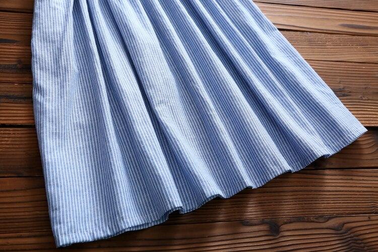 2017 nueva primavera larga de algodón vestidos de las mujeres ropa de manga larg