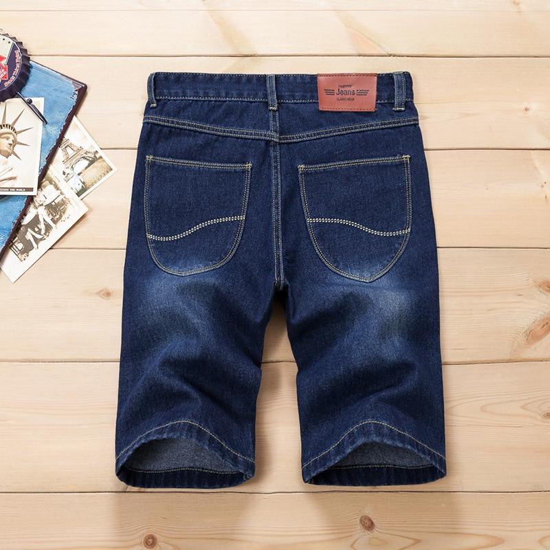 Pantallona të shkurtra xhins QINSIR pantallona xhins meshkuj, - Veshje për meshkuj - Foto 3