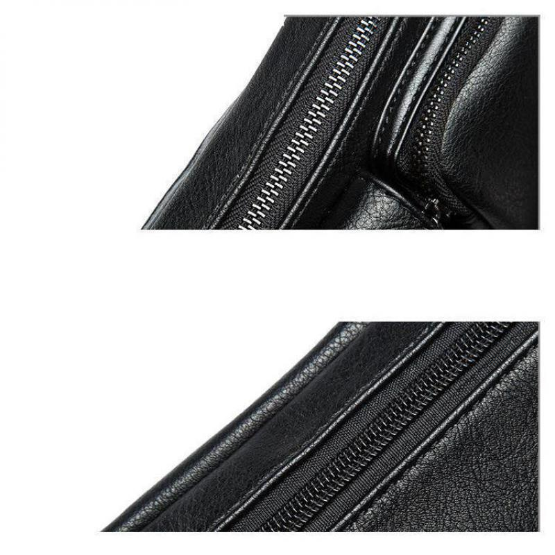 Retro Mens Chest Single Shoulder Bag Korean Version Waist Pack Leisure Crossbody Bag Mobile Phone Bag Handbags