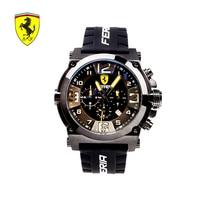 SCUDERIA FERRARI Brands 2018 New Watch Men's Sports Black Dial Fashion Waterproof Male Quartz Watch Simple Trendy Gifts 0844502