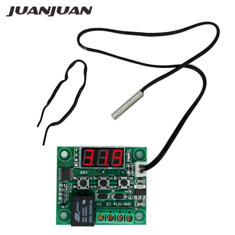 W1209 dc 12 v デジタルヒートクールテンプサーモスタット温度温度制御スイッチモジュールオン/オフとセンサー 47% オフ