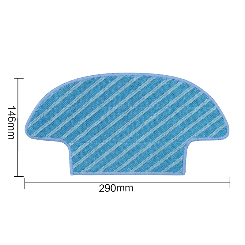 Washable Reusable Replacement Microfiber Mopping for D36A TCR-S TCR-S2 TCR660 M1 robot vacuum cleaner parts new 3pcs deep clean blue microfiber replacement washable wet mopping pads for braava jet 240 cleaner
