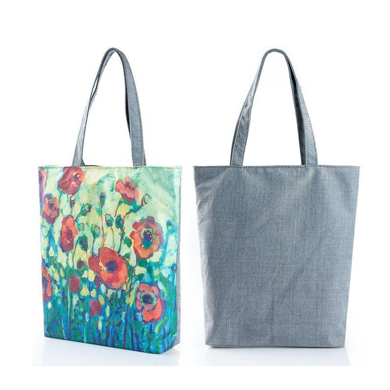 DORISNEE Floral Printed Canvas Women's Beach Bags Designer Ladies ...