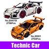 LEPIN 20001 20001B 2704PCS Technic Series Car Model Building Kits Blocks Bricks Educational Toys Compatible 42056