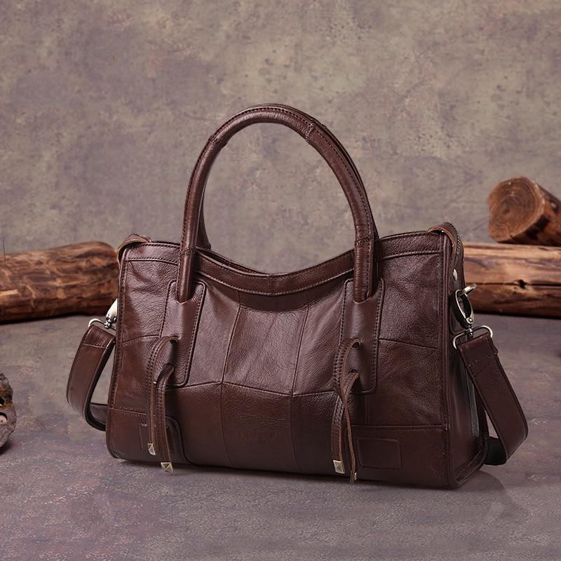 Сапожник Легенда оригинальный из натуральной кожи Для женщин сумки на плечо 2018 новый досуг Trend дамы кроссбоди мешок для Для женщин сумки
