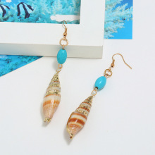 Brincos Limited Direct Selling Aretes Earings 2019 Natural Shell Earrings Women Color Geometric Starfish Brinks Fashion Jewelry