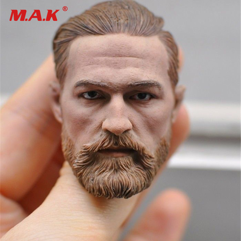 1/6 Scale European Male Head Sculpt Model Headplay Without Neck for 12 Action Figure Body Figure mak custom 1 6 scale hugh jackman head sculpt wolverine male headplay model fit 12kumik body figures