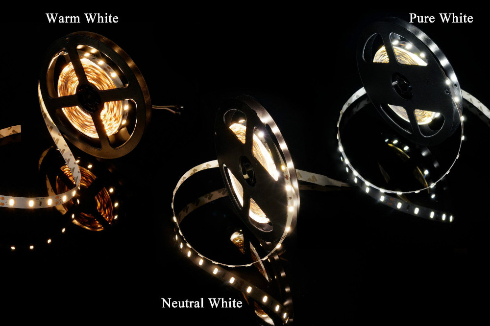 MARSWALLED 1M High CRI 80+ LED Strip Light SMD5630 Super Bright Warm White Neutral White Daylight White Pure White Nonwaterproof