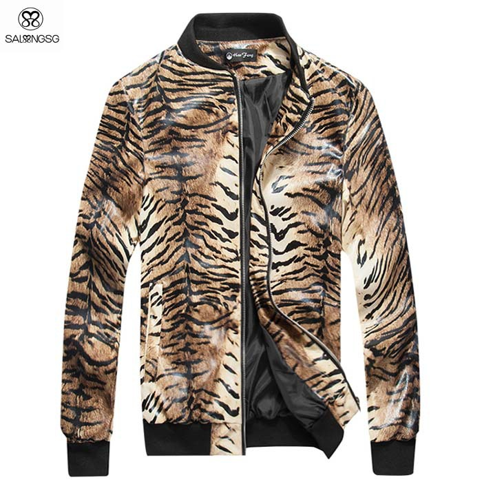 Faux tiger coat — Madseventies