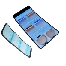 Etui filtre pour objectif dappareil photo pochette de transport sac portefeuille pour filtres 49mm 82mm 3 poches 6 poches pour canon nikon sony dlsr cokin p series