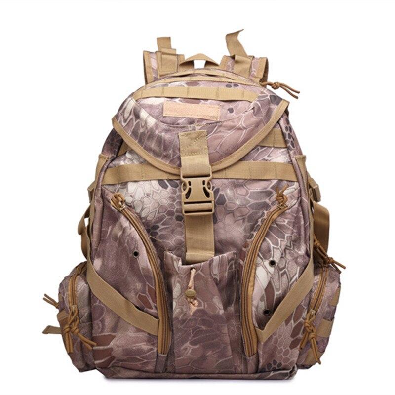 Sac à dos militaire tactique en plein air sac à dos Camping randonnée Camouflage sac de Sport sacs de voyage 20-35L Mochilas - 2