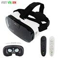 Fiit 2N Pro Игры Видео Модели Виртуальной Реальности Очки VR Box 3D VR Очки Гарнитура Google Картонный Шлем для 4-6 '+ Пульт Дистанционного