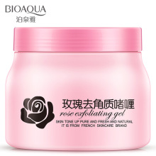 BIOAQUA 500g Rose Essence Exfoliating Gel Scrub Moisturizing Body Lotion Hydrating Facial Scrub Exfoliating Body Moisture