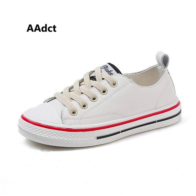 AAdct 2019 子供カジュアルシューズ春の新作女の子靴本革のファッション子供の靴スニーカースポーツベビー