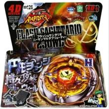Flash Sagittario 230WD Metal Fury 4D Legends Beyblade BB-126