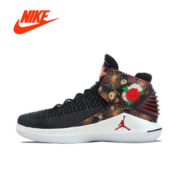 Original New Arrival Authentic NIKE AIR JORDAN XXXII PF CNY AJ32 Mens  Basketball Shoes Sneakers Sport