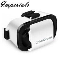 XPFGoogle Картон VR КОРОБКА Виртуальная Реальность 3D Очки Для Samsung S6 s7 S5 S4 Для wholseale 2