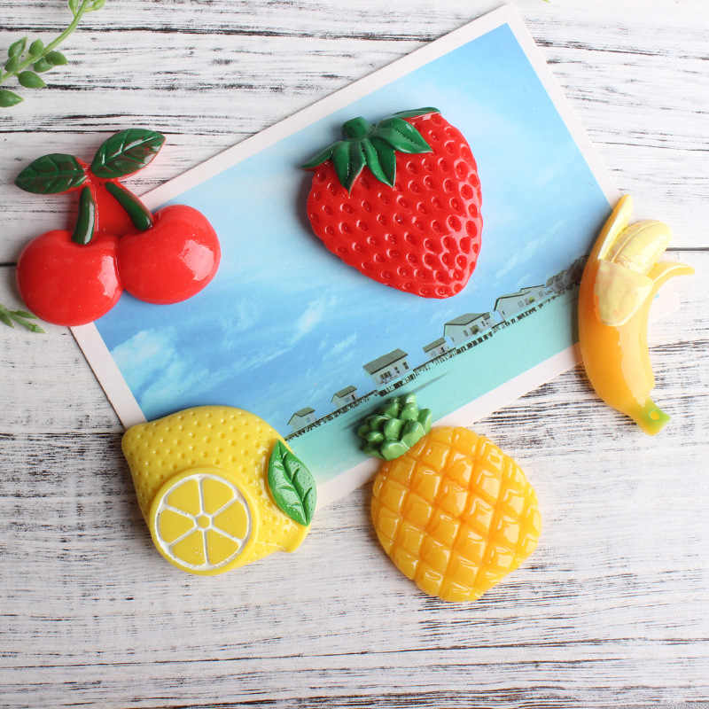 Detail Feedback Questions About 10 Pcs Fruit Fridge Magnet Home