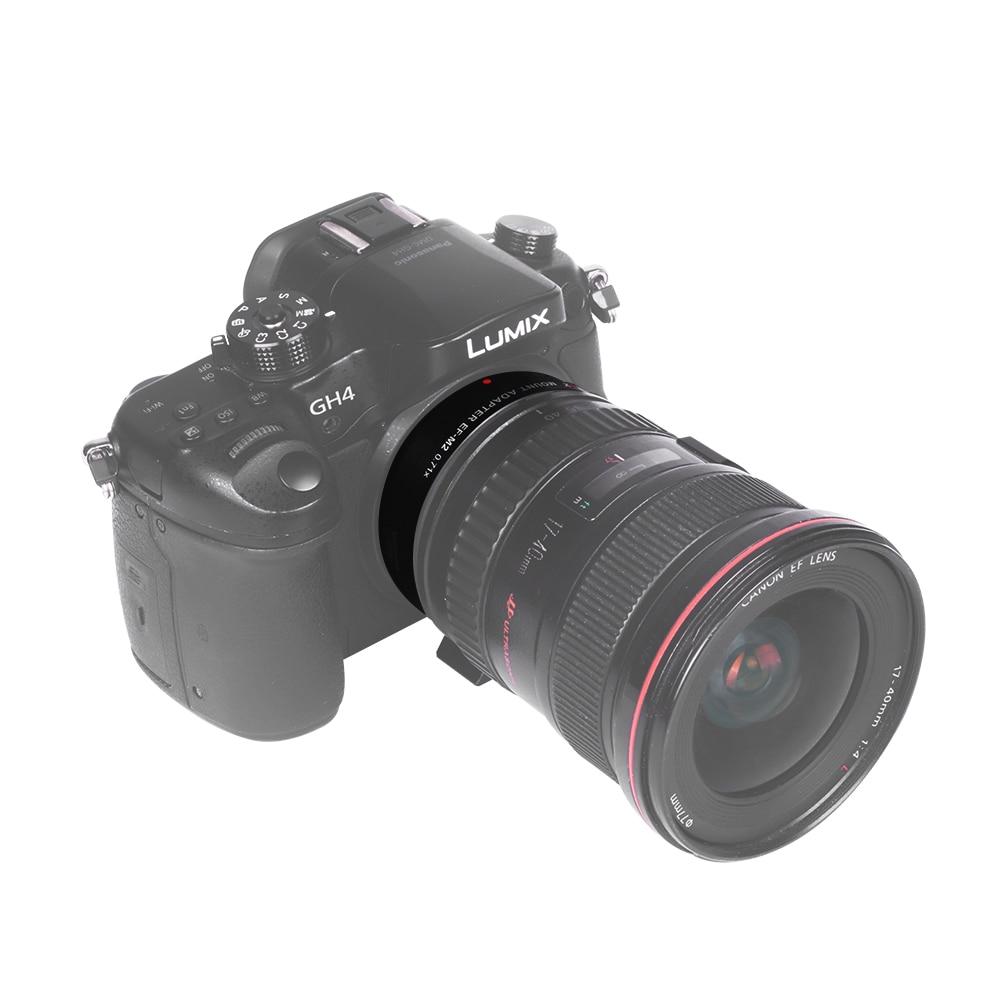 Viltrox EF-M2 AF Automatické zaostřování EXIF 0.71X Redukce - Videokamery a fotoaparáty - Fotografie 5