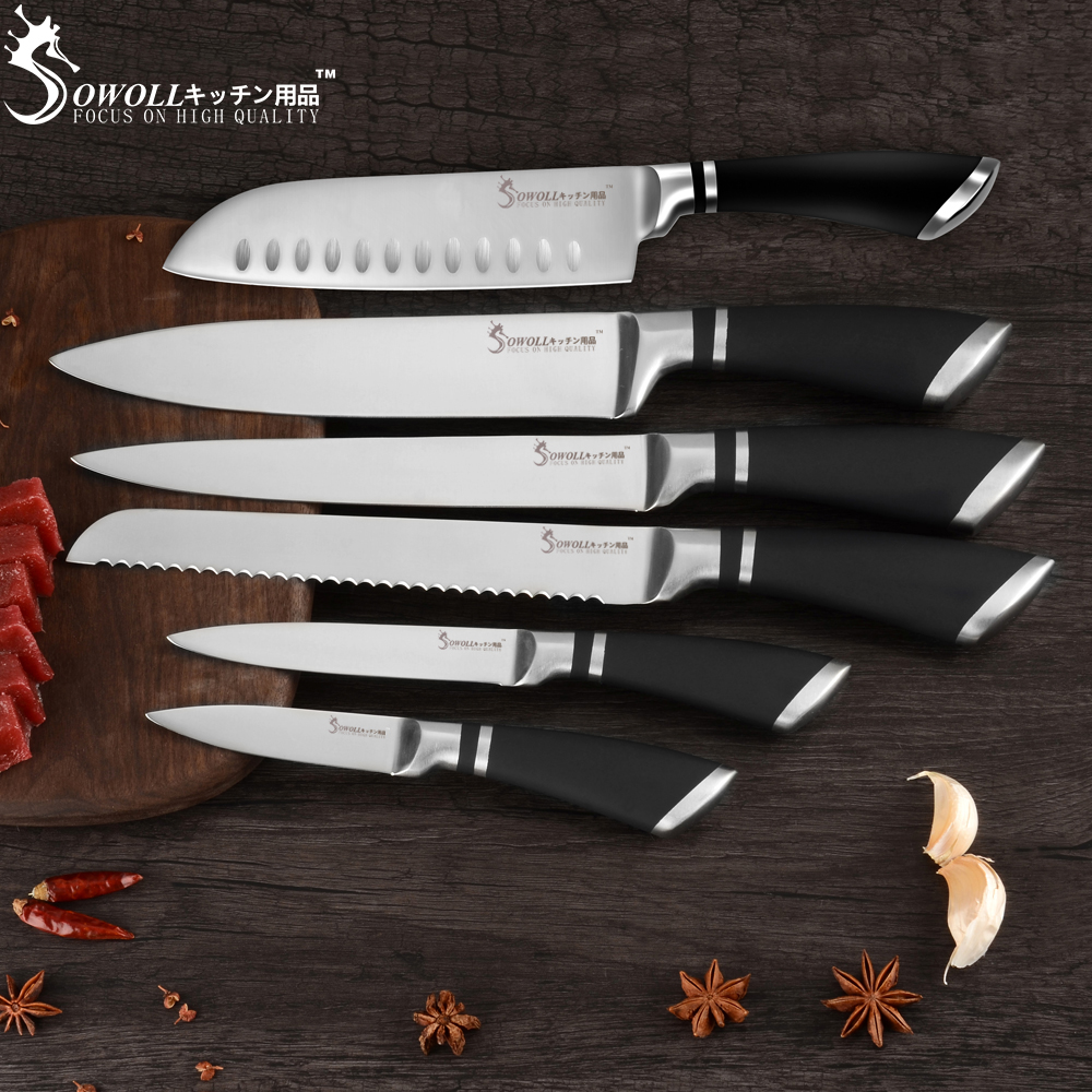 SOWOLL-Cutlery-Set-Kitchen-Knives-3cr13-Stainless-Steel-Knives-Paring-Utility-Santoku-Bread-Slicing-Chef-Knife