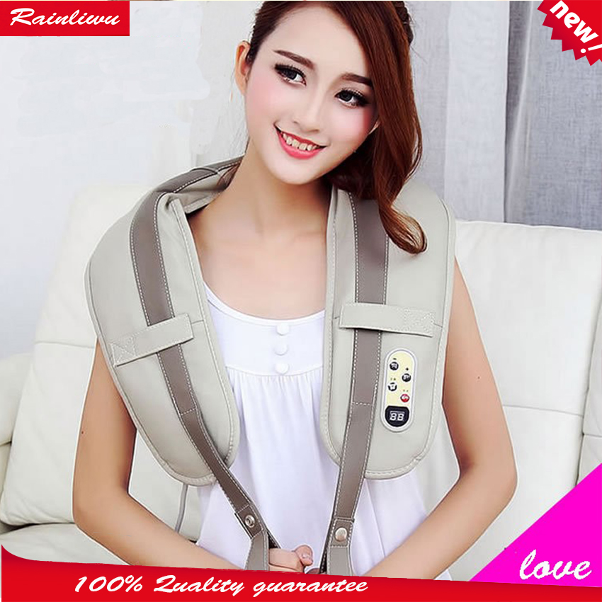 Massage shawls Cervical vertebra massager neck shoulder waist knock back massage device Shawl massage instrument