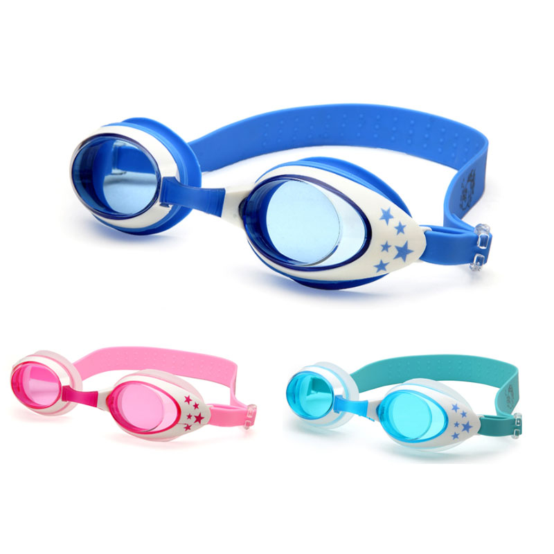 Swimming Goggles Kids Professional Cartoon Boys Girls Anti Fog Pool Children Waterproof Swim Eyewear Silicone Diving Glasses