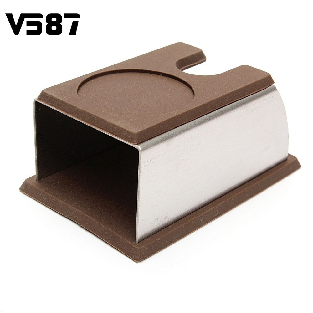 Coffee Tamper Holder Stainless Steel Stand Rack Shelf Coffee Brewing Tools Coffee Machine Accessories Caffe Making Gadgets