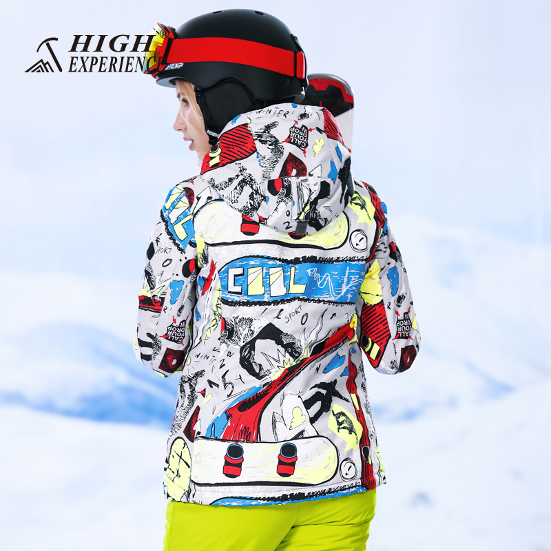 Здесь можно купить  High Experience Winter Jacket Women Ski Jacket For Women Snowboarding Jackets Female Waterproof Winter Women