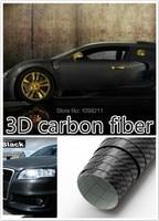24 X60 600mmm X 1520mm 3D Air Free Carbon Fiber Vinyl Sheet Twill Weave Wrap Film