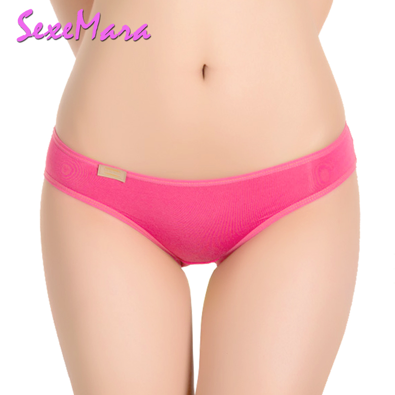 Buy New Everyday Ladies Panties 3 pcs/lot Modal Panty Women Low Waist Women's Briefs Black Comfortable Solid Candy Color Girls YL048