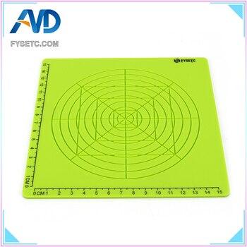 Super Multi-Purpose 3D Design Green Silicone Mat Basic Template + 10M PLA Filament 1.75mm For 3D Printer Pens Children Gift