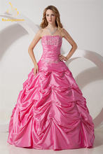 Женское бальное платье с аппликацией из бисера на возраст 15
