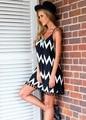 Новый Девушку Summer Beach Dress Мини Платья V Шеи Сексуальная Спинки ремень Спагетти Ремень женская одежда платье ГОРЯЧИЕ