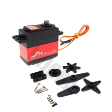 1PCS JX PDI-6221MG 20KG Large Torque Digital Coreless Servo for RC Car Boat Helicopter RC Model
