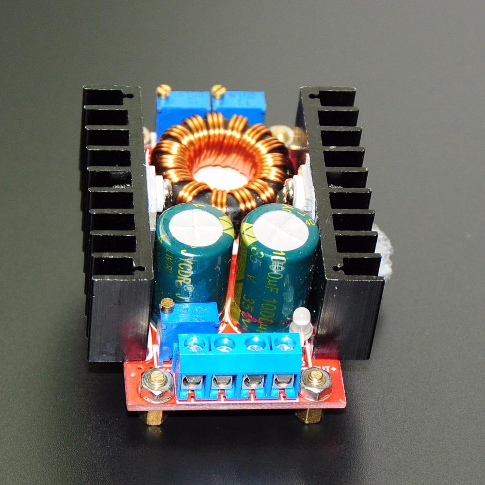 4pcs 10-30V to 12-35V Step Up CV CC 150W 10A DC Boost Converter Power Supply LED Driver Charger Adjustable Voltage Regulator