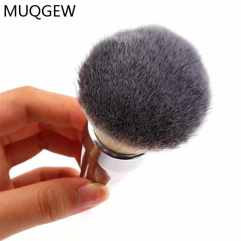 איפור באיכות גבוהה קוסמטי מברשות הקאבוקי פנים סומק רך שיער מקצועי איפור מברשת אבקת קרן כלי טבע זיפים
