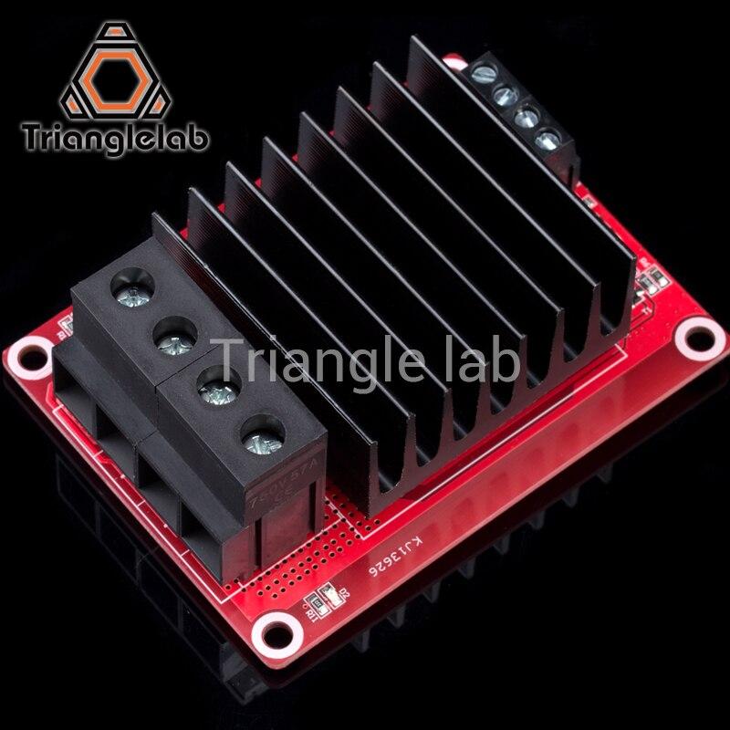 40A soutien grande actuel pour 3d imprimante Heatbed MKS MOS module dépasser mise à jour régulateur de chauffage Chaude Lit Puissance Carte D'extension