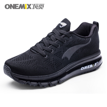 ONEMIX Men Running Shoes Women Breathable Air-Knit Sneakers Lightweight Outdoor Trail Trainers Zapatos De Hombre Max 12.5
