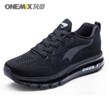 ONEMIX Men Running Shoes Women Breathable Air-Knit Sneakers Lightweight Outdoor Trail Trainers Zapatos De Hombre Max 12.5(China)