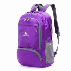 Image 5 - Foldable Nylon Waterproof Light weight Climbing Backpack Women Men Outdoor Sport Bag Cycling Rucksack Hiking Travel Bag 20L